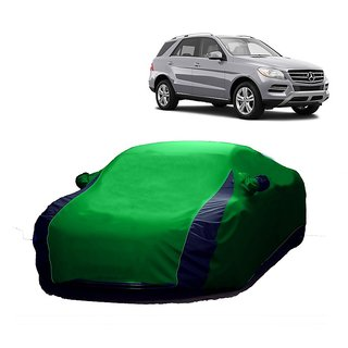 InTrend All Weather  Car Cover For Nissan Micra Active (Designer Green  Blue )