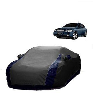 InTrend All Weather  Car Cover For Maruti Suzuki Alto K10 Old (Designer Grey  Blue )