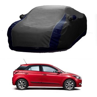 InTrend All Weather  Car Cover For Toyota Cruiser (Designer Grey  Blue )
