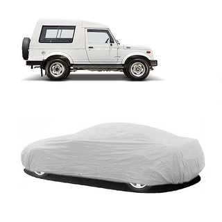 MotRoX Water Resistant  Car Cover For Tata Indica (Silver Without Mirror )