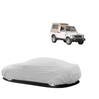 MotRoX Water Resistant  Car Cover For Tata Indica Vista (Silver Without Mirror )