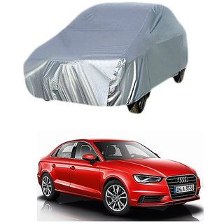 Bull Rider Car Cover For Audi A5 (Silver Without Mirror )
