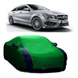 InTrend All Weather  Car Cover For Mercedes Benz Benz A (Designer Green  Blue )