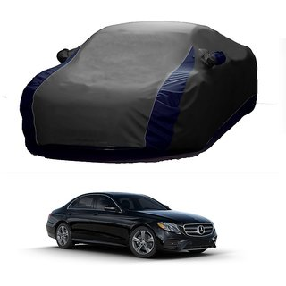 InTrend All Weather  Car Cover For Opel Corsa (Designer Grey  Blue )