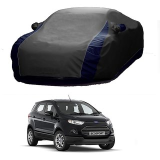 InTrend All Weather  Car Cover For Mini Countryman (Designer Grey  Blue )