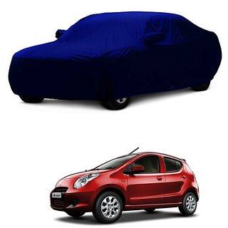 InTrend All Weather  Car Cover For Honda BRV (Blue With Mirror )