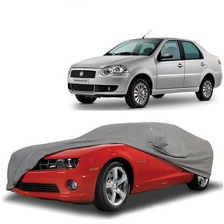 InTrend All Weather  Car Cover For Maruti Suzuki SX4 (Grey With Mirror )