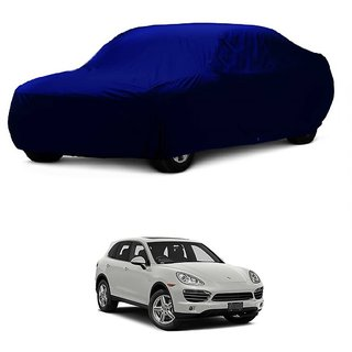 InTrend All Weather  Car Cover For Mercedes Benz Benz S Class S350 (Blue Without Mirror )