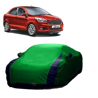 InTrend All Weather  Car Cover For Nissan Evalia (Designer Green  Blue )