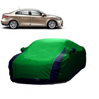 InTrend All Weather  Car Cover For Land Rover Evoque (Designer Green  Blue )