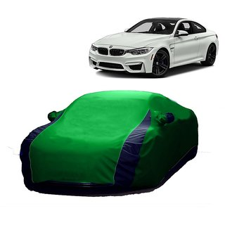 InTrend All Weather  Car Cover For Mercedes Benz M-Class (Designer Green  Blue )
