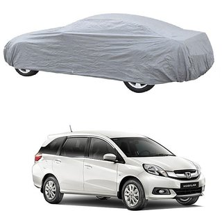 MotRoX Water Resistant  Car Cover For Audi Q5 (Silver Without Mirror )