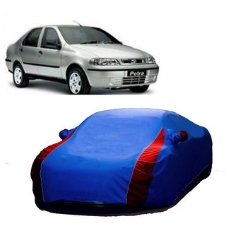 InTrend All Weather  Car Cover For SsangYong Rexton (Designer Blue  Red )