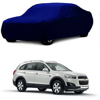 InTrend All Weather  Car Cover For Mercedes Benz Benz S 350 (Blue Without Mirror )
