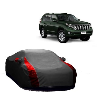 Bull Rider Water Resistant  Car Cover For Audi S5 (Designer Grey  Red )
