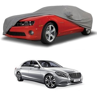 Bull Rider Car Cover For Opel Corsa (Grey With Mirror )