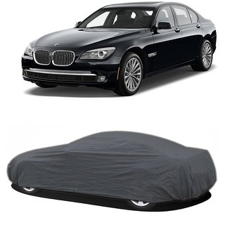 DrivingAID Water Resistant  Car Cover For BMW 7 Series (Grey Without Mirror )