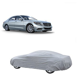 DrivingAID Water Resistant  Car Cover For Tata Sonata (Silver Without Mirror )