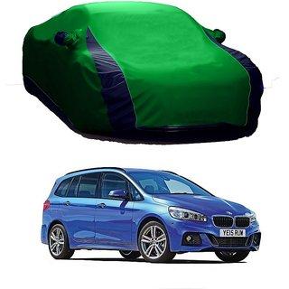 Bull Rider Water Resistant  Car Cover For Tata Zest (Designer Green  Blue )