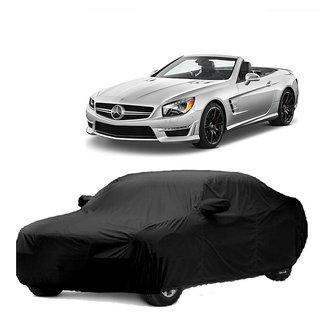 InTrend All Weather  Car Cover For Maruti Suzuki Stingray (Black With Mirror )