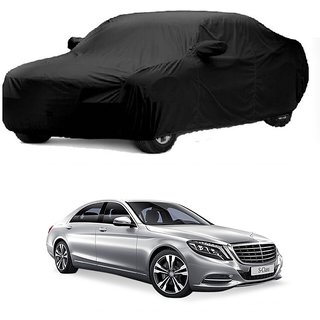 Bull Rider Water Resistant  Car Cover For Opel Corsa (Black With Mirror )