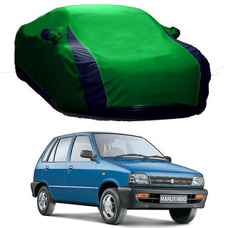 AutoBurn All Weather  Car Cover For Mercedes Benz A-Class (Designer Green  Blue )