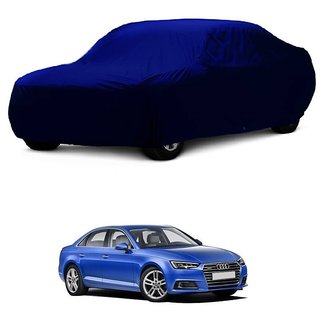 AutoBurn Water Resistant  Car Cover For Audi A7 (Blue Without Mirror )