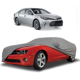 Bull Rider Water Resistant  Car Cover For Fiat Aventura (Grey With Mirror )