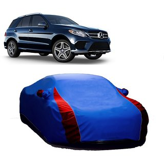 InTrend All Weather  Car Cover For Nissan Frontier (Designer Blue  Red )