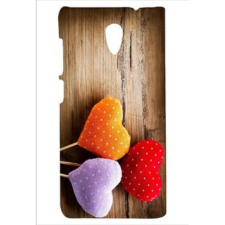 Printed back cover Micromax A106 Unite 2