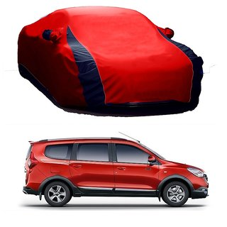 RoadPluS UV Resistant Car Cover For Tata Manza (Designer Red  Blue )