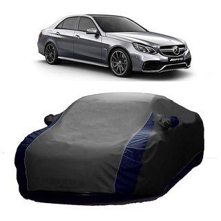 MotRoX Water Resistant  Car Cover For BMW Alpina B6 (Designer Grey  Blue )