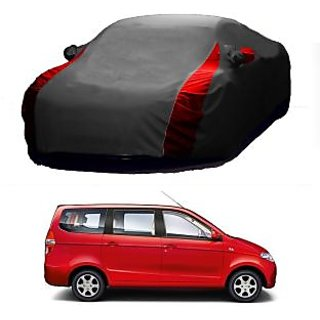 InTrend All Weather  Car Cover For Land Rover Discovery (Designer Grey  Red )