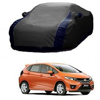 InTrend All Weather  Car Cover For Tata Indigo Marina (Designer Grey  Blue )