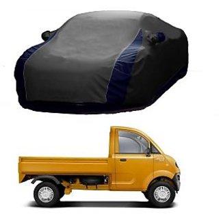 InTrend All Weather  Car Cover For Honda Jazz (Designer Grey  Blue )