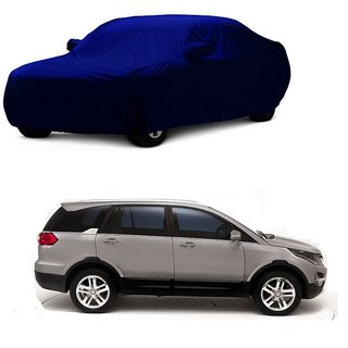DrivingAID Water Resistant  Car Cover For Mercedes Benz A180 (Blue With Mirror )