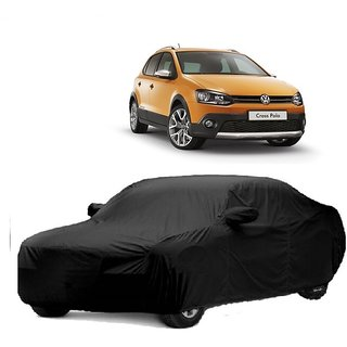 Bull Rider Water Resistant  Car Cover For Audi S3 (Black With Mirror )