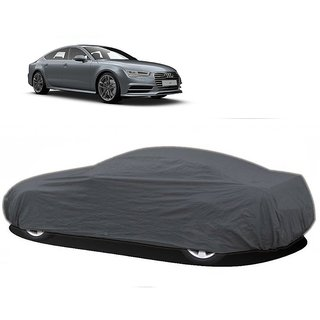 MotRoX Water Resistant  Car Cover For Honda Accord (Grey Without Mirror )
