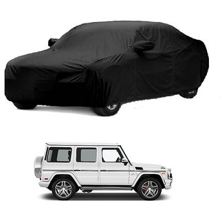 Bull Rider Water Resistant  Car Cover For Mercedes Benz GL (Black With Mirror )