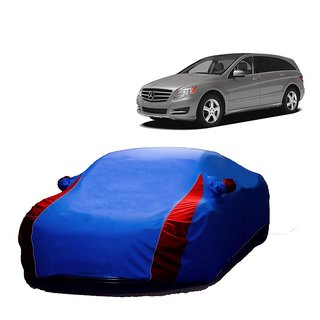 Bull Rider Water Resistant  Car Cover For Hyundai Santro (Designer Blue  Red )