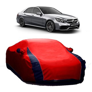 InTrend All Weather  Car Cover For Audi A4 (Designer Red  Blue )
