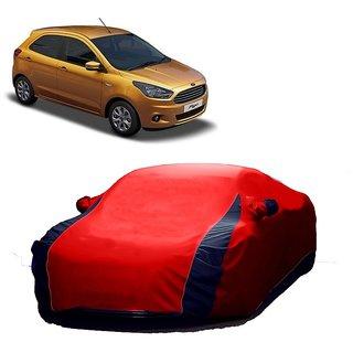 SpeedRo Car Cover For Jaguar F-Type (Designer Red  Blue )