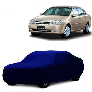 AutoBurn UV Resistant Car Cover For Datsun Redi GO (Blue Without Mirror )