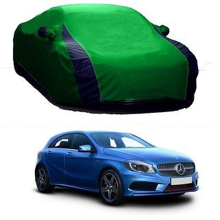 Bull Rider Water Resistant  Car Cover For Maruti Suzuki A-Star (Designer Green  Blue )