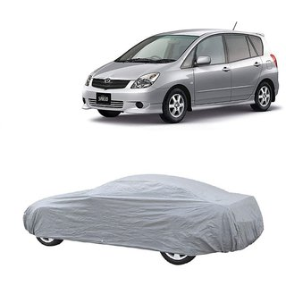 DrivingAID Water Resistant  Car Cover For Mahindra Vertio (Silver Without Mirror )
