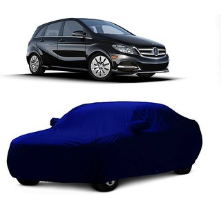 DrivingAID Water Resistant  Car Cover For Volkswagen Beetle (Blue With Mirror )