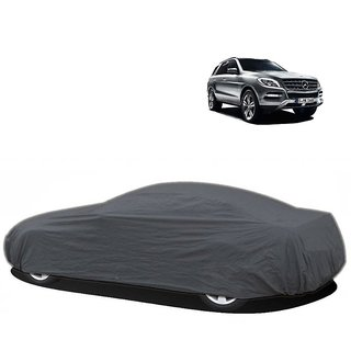 InTrend UV Resistant Car Cover For Nissan Micra Active (Grey Without Mirror )