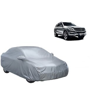 Bull Rider Water Resistant  Car Cover For Mitsubishi Pajero (Silver With Mirror )