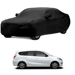 Bull Rider Water Resistant  Car Cover For Maruti Suzuki Grand Vitara (Black With Mirror )