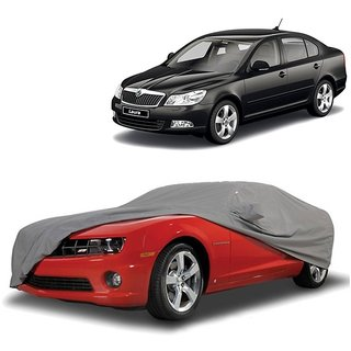 DrivingAID Water Resistant  Car Cover For Mercedes Benz M-Class (Grey With Mirror )